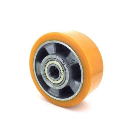 POLYURETHANE WHEEL ALUMINIUM BODY 125 MM DIAMETER 20 MM BORE S2013