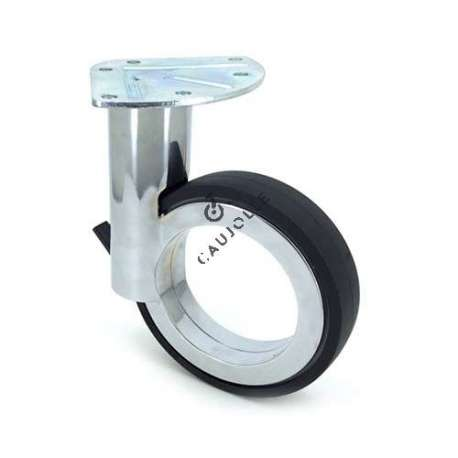 Modern design castor wheel GRAVITY 110P CHROME-PLATED
