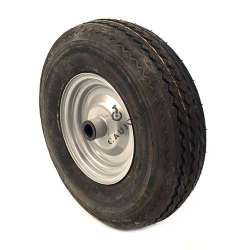WHEEL 6-PLY REINFORCED TYRE S2600 400 MM DIAMETER 25 MM BORE WITH ROLLER BEARING