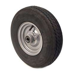WHEEL 6-PLY REINFORCED TYRE S2600 400 MM 25 MM BORE WITH BALL BEARING