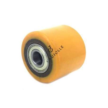 TRANSPALLET WHEEL 82 MM DIAMETER 60 MM LARGE 20 MM BORE