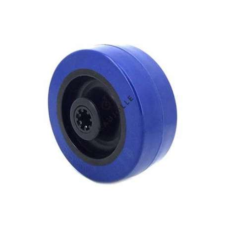 NON-MARKING SUPPLE RUBBER ROLLER 100 MM DIAMETER 12 MM BORE