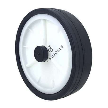 LAWNMOWER WHEEL 200 MM DIAMETER 14 MM BORE