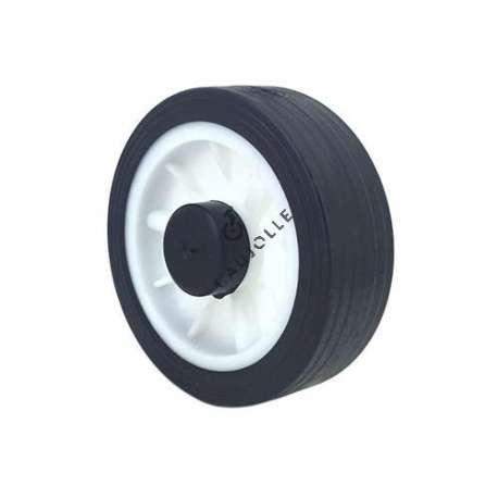 LAWNMOWER WHEEL 125 MM DIAMETER 12 MM BORE