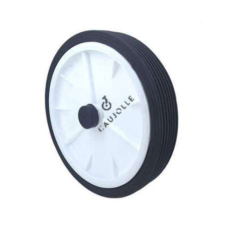 LAWNMOWER WHEEL 250 MM DIAMETER 12 MM BORE