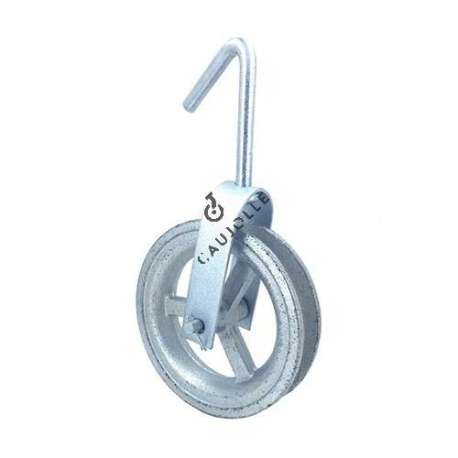 WELL PULLEY 160 MM DIAMETER