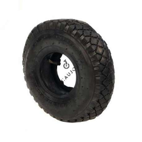 TREAD TYRE + AIR CHAMBER FOR TROLLEY 260 MM DIAMETER (3.00-4)