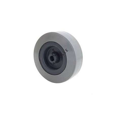 GREY PVC WHEEL 80 MM DIAMETER 8 MM BORE S2300E