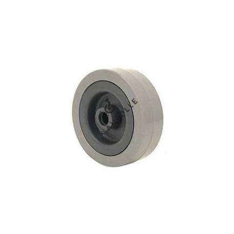 GREY PVC WHEEL 65 MM DIAMETER 8 MM BORE S2300E