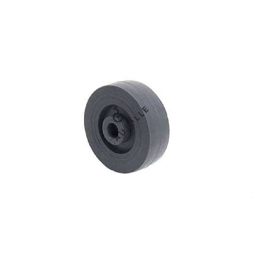 GREY POLYPROPYLENE WHEEL 50 MM DIAMETER 8 MM BORE S2400