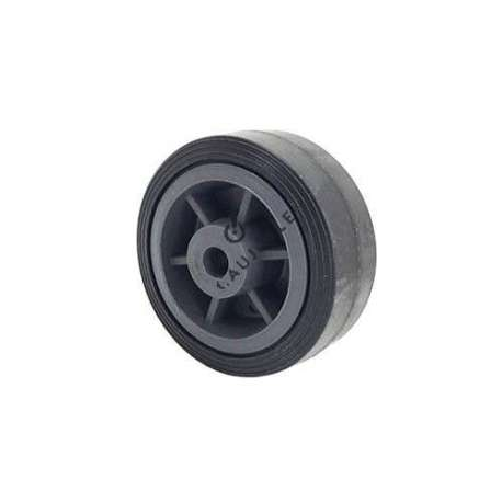 RUBBER WHEEL 100 MM DIAMETER 13 MM BORE S2300