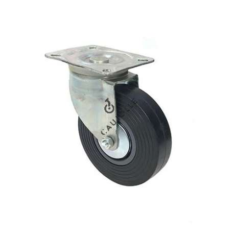 ROULETTE PIVOTANTE DE MANUTENTION LARGE DIAMÈTRE 150 MM CHARGE 130 KG - S2C 150R
